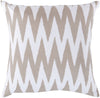 Vibe Throw Pillow Neutral