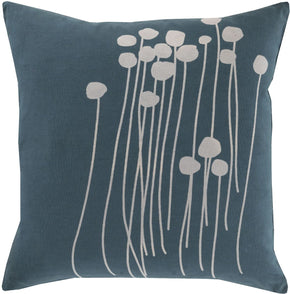 Throw Pillows - Surya LJA003-1818D Abo Throw Pillow Green, Gray | 764262976182 | Only $35.00. Buy today at http://www.contemporaryfurniturewarehouse.com