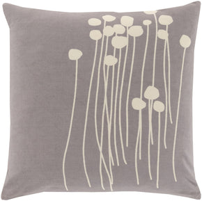 Abo Throw Pillow Gray Neutral