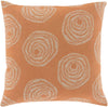 Sylloda Throw Pillow Pink Gray