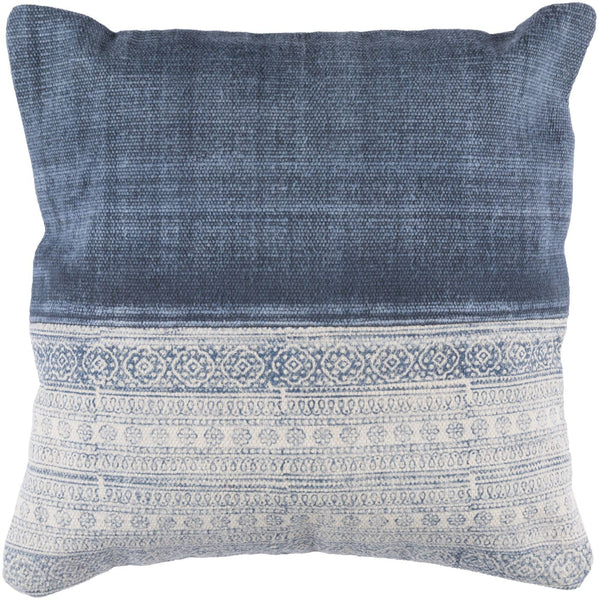 Lola Throw Pillow Neutral Blue