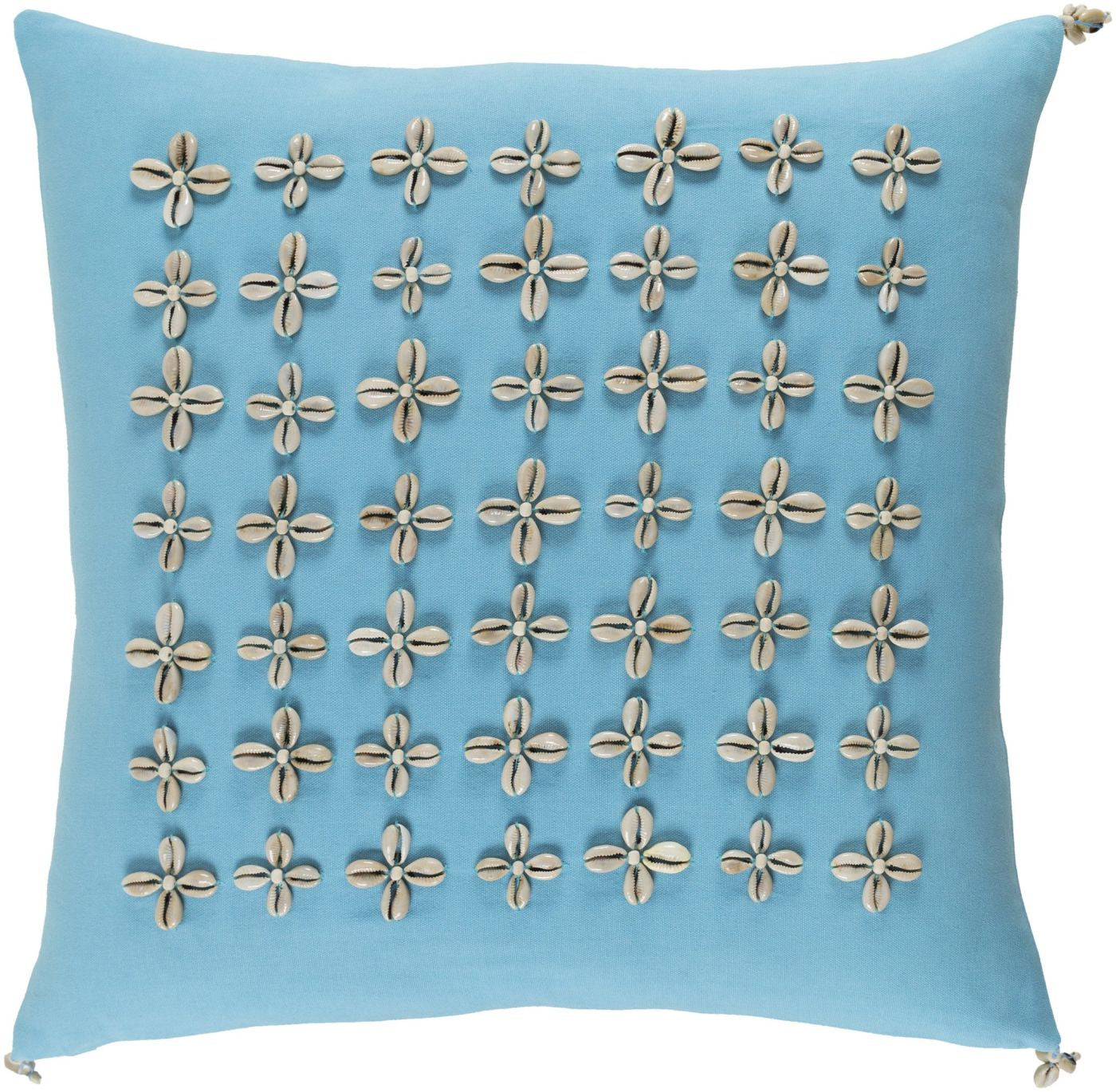 Cute Neutral Throw Pillows : Surya Lelei Throw Pillow Blue, Neutral LLI001-2222D. Only $97.80 at Contemporary Furniture ...