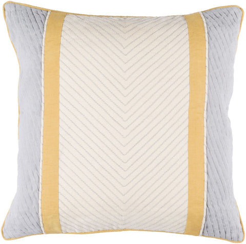 Leona Throw Pillow Neutral Gray