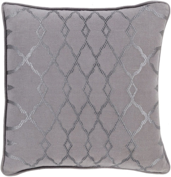 Lydia Throw Pillow Gray