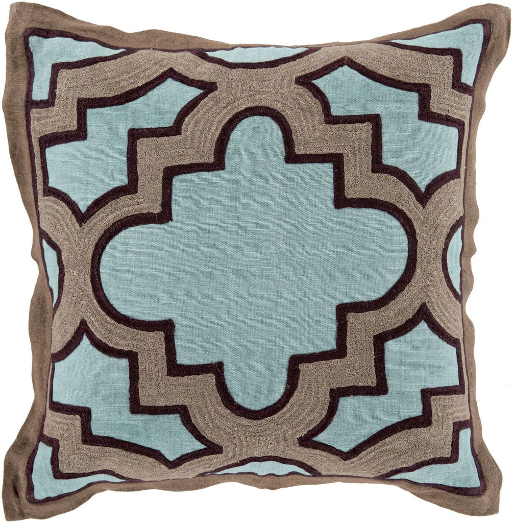 Surya Blowout Sale Up To 70 Off Mco001 1818d Maze Throw Pillow Blue Brown Only Only 95 40 At Contemporary Furniture Warehouse