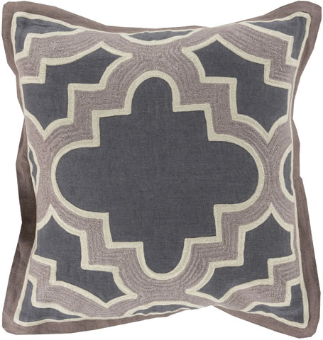 Maze Throw Pillow Neutral