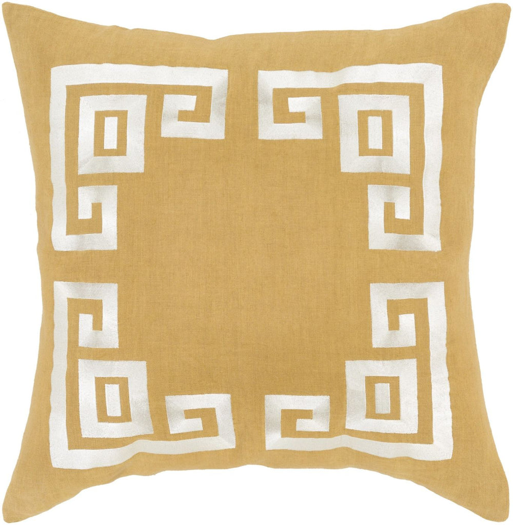 Milo Throw Pillow Brown Neutral