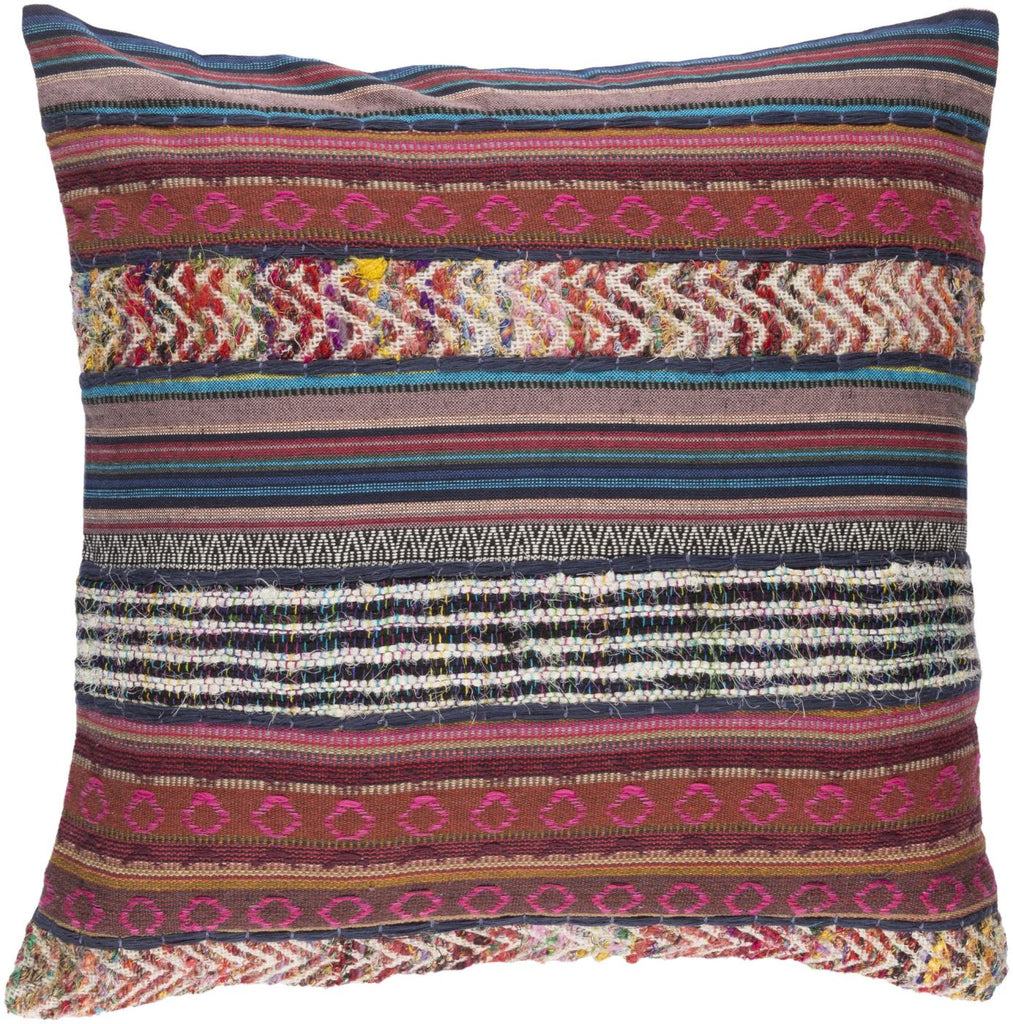 Marrakech Throw Pillow Pink Brown