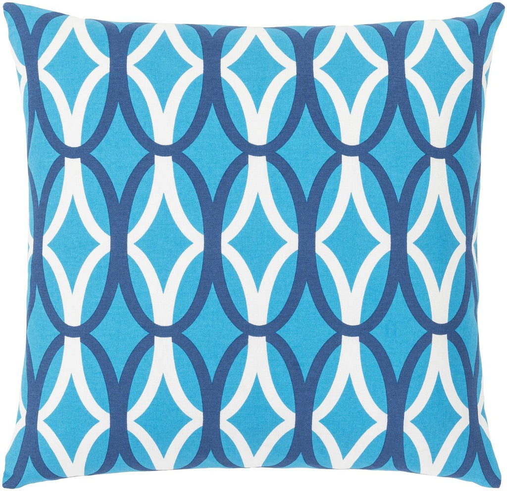 Miranda Throw Pillow Blue