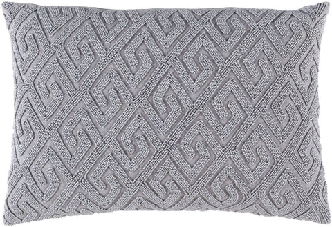 Marielle Throw Pillow Gray