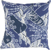 Mizu Throw Pillow Blue
