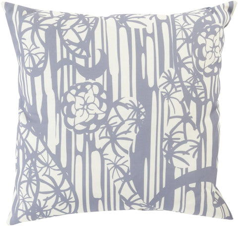 Mizu Throw Pillow Gray Neutral