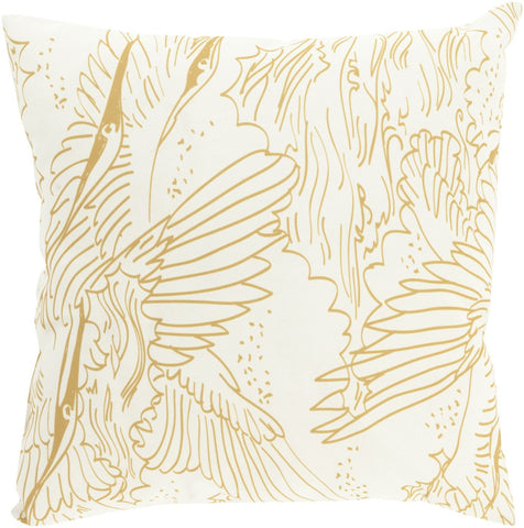 Mizu Throw Pillow Brown Neutral