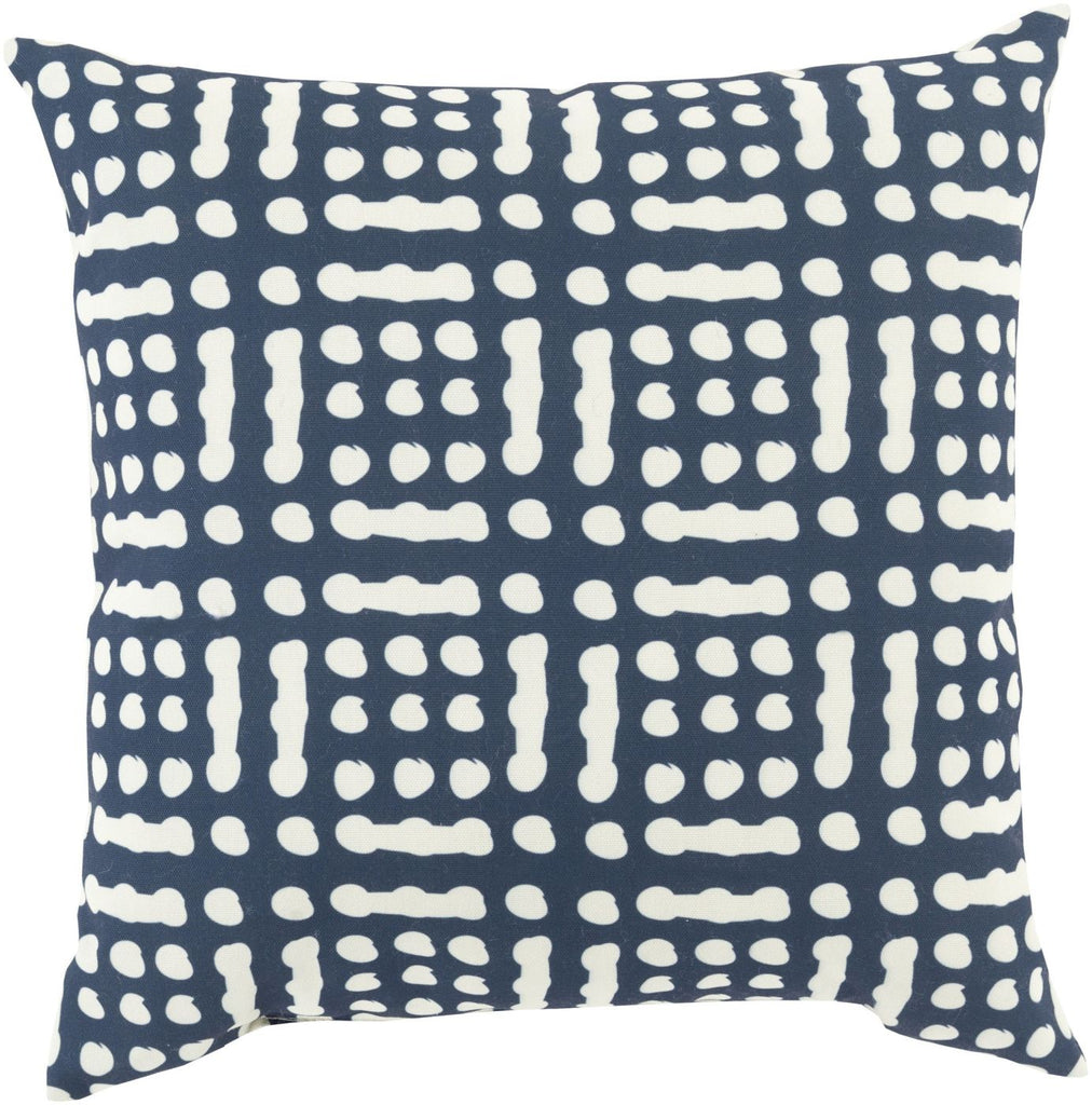 Mizu Throw Pillow Blue Neutral
