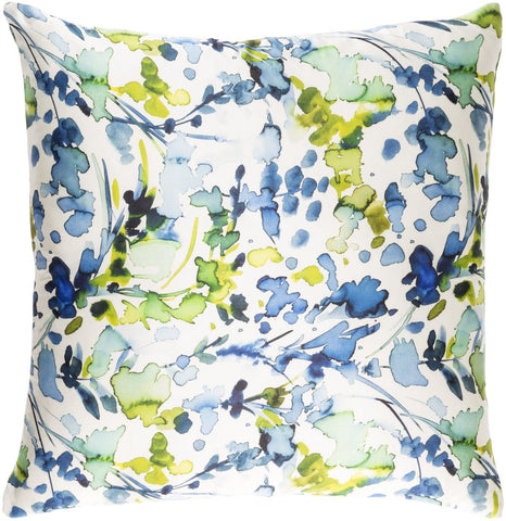 Naida Throw Pillow Neutral Blue