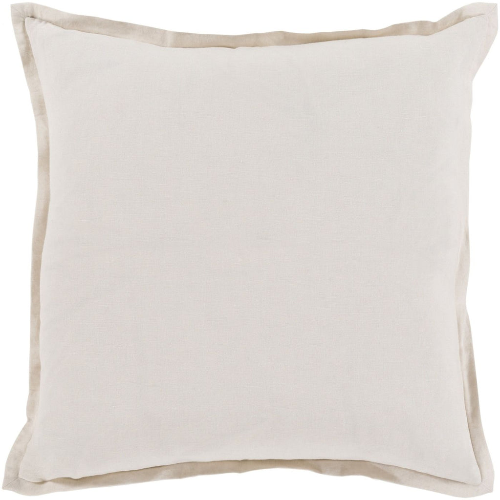 Throw Pillows - Surya OR006-1818D Orianna Throw Pillow Neutral | 888473197638 | Only $43.80. Buy today at http://www.contemporaryfurniturewarehouse.com