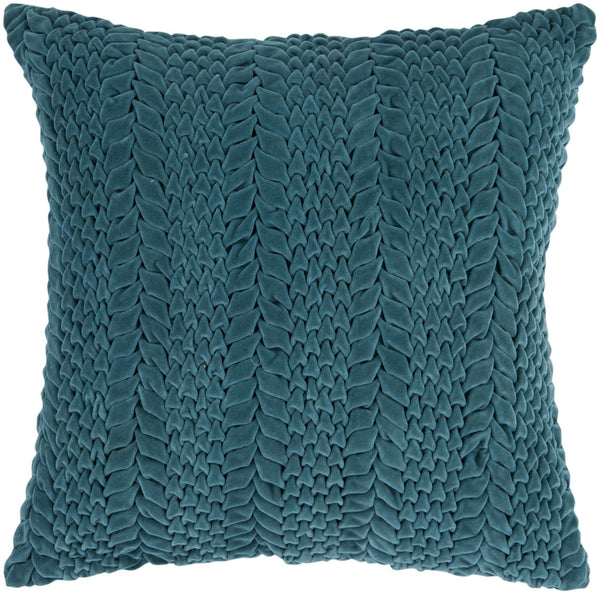 Throw Pillows - Surya P0279-1818D Velvet Luxe Throw Pillow Green | 764262543056 | Only $90.00. Buy today at http://www.contemporaryfurniturewarehouse.com