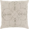 Pauline Throw Pillow Neutral Metallic