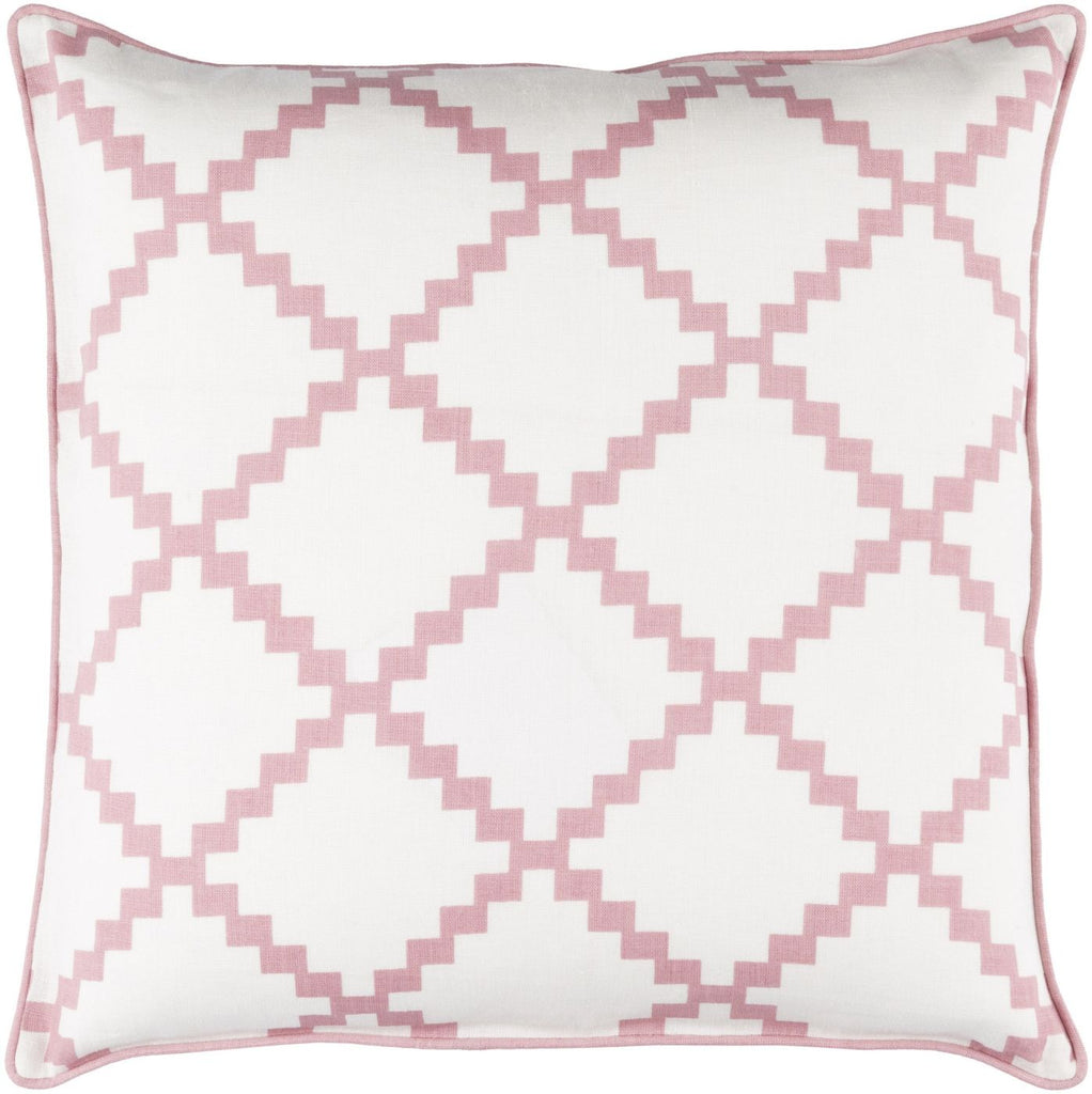 Parsons Throw Pillow Neutral Pink