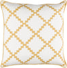 Parsons Throw Pillow Neutral Yellow