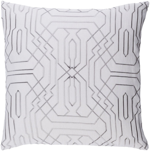 Ridgewood Throw Pillow Neutral Gray