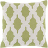 Salma Throw Pillow Green Neutral