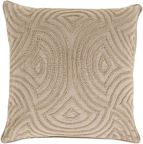 Skinny Dip Throw Pillow Neutral