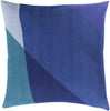 Teori Throw Pillow Blue