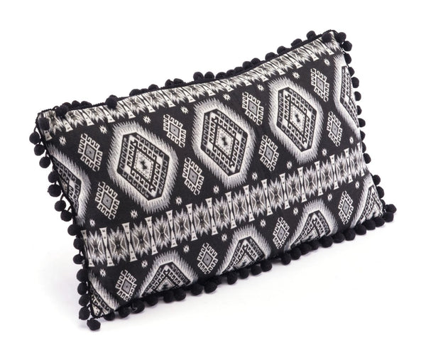 Tribal Pillow Black & White