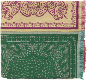 Indira Global Woven Throw - Pink Green