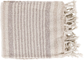 Treasure Modern Woven Throw - Neutral Gray