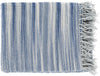 Tanga Modern Woven Throw - Gray, Blue