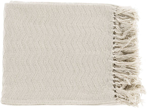 Thelma Contemporary Woven Throw - Neutral