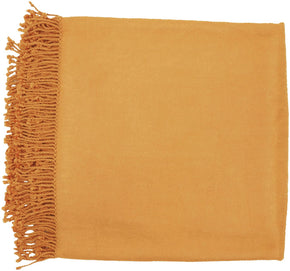 Tian Traditional Woven Throw - Orange