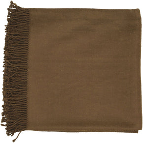 Tian Traditional Woven Throw - Brown