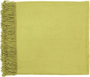 Tian Traditional Woven Throw - Green
