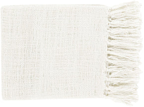 Tilda Traditional Woven Throw - Neutral
