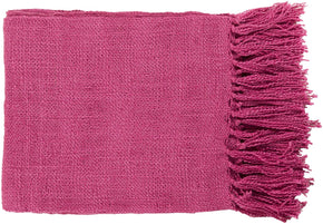 Throws - Surya TID005-5951 Tilda Traditional Woven Throw - Purple | 764262981049 | Only $60.00. Buy today at http://www.contemporaryfurniturewarehouse.com