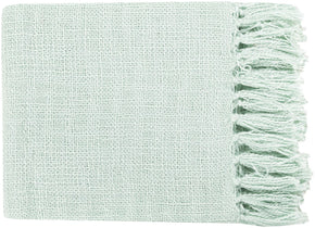 Throws - Surya TID009-5951 Tilda Traditional Woven Throw - Blue | 764262981087 | Only $60.00. Buy today at http://www.contemporaryfurniturewarehouse.com