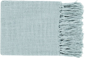 Tilda Traditional Woven Throw - Blue