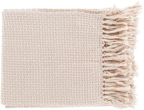 Tierney Traditional Woven Throw - Pink