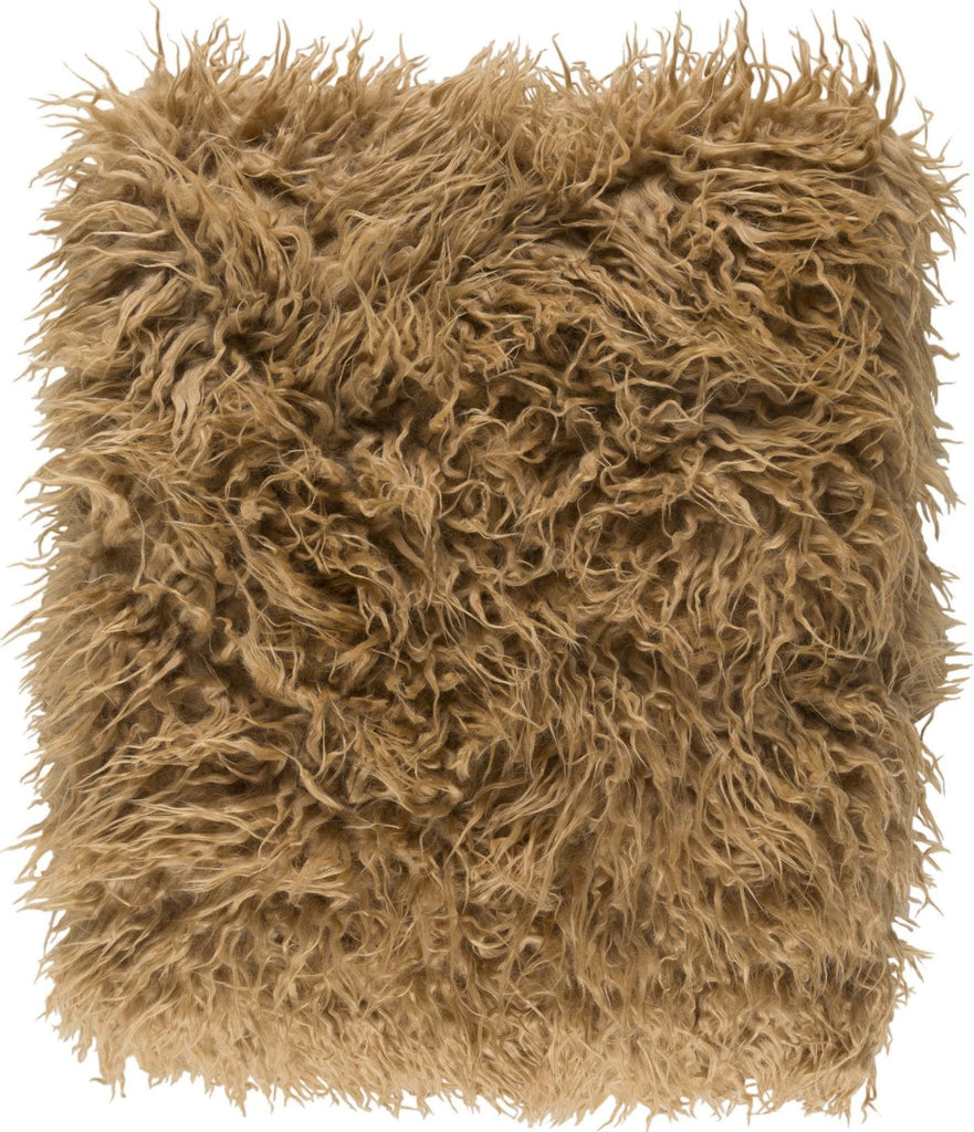 Kharaa Animal Knitted Throw - Neutral