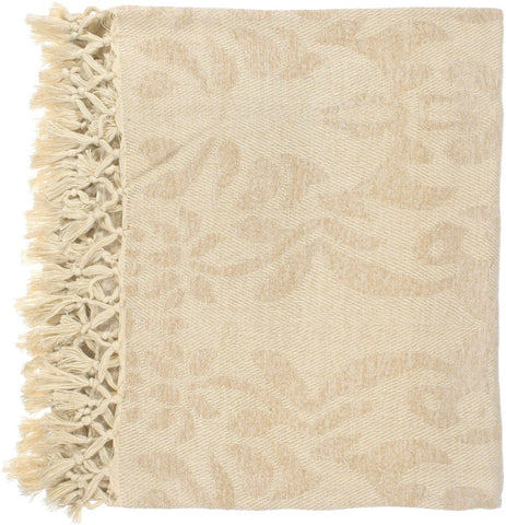 Tristen Traditional Woven Throw - Neutral