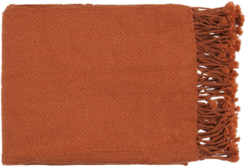 Turner Traditional Woven Throw - Red