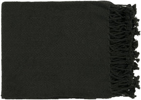 Turner Traditional Woven Throw - Black