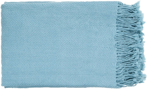 Turner Traditional Woven Throw - Blue