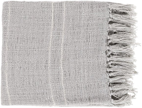 Traveler Modern Woven Throw - Gray