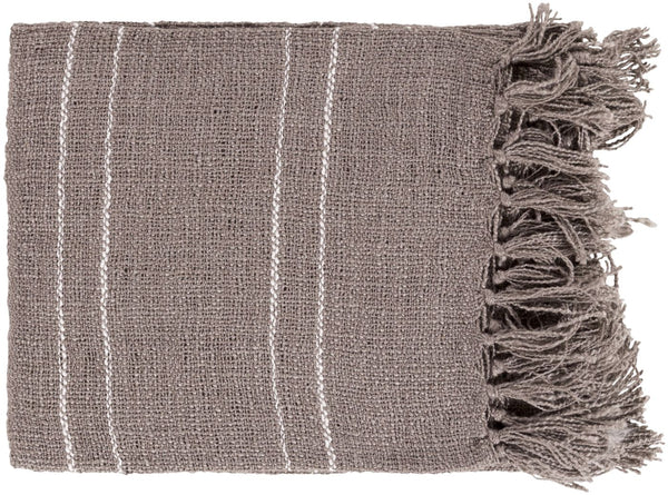 Traveler Modern Woven Throw - Brown