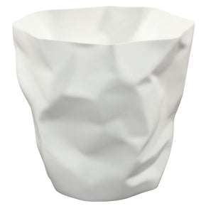 Trash Bins - Modway EEI-1022-WHI Lava Trash Bin | 848387008895 | Only $29.80. Buy today at http://www.contemporaryfurniturewarehouse.com