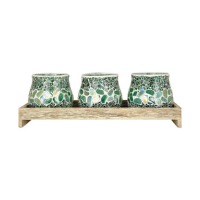 Pebble Lighting Tray Birch,seafoam